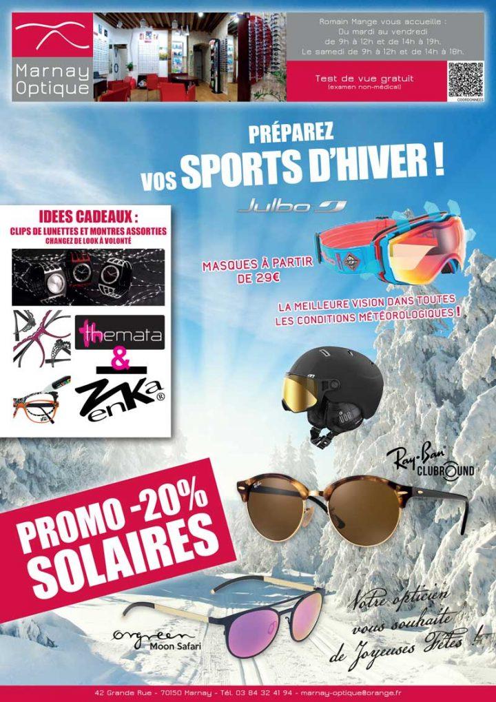 Etes vous prêt pour les sports d'hiver ?