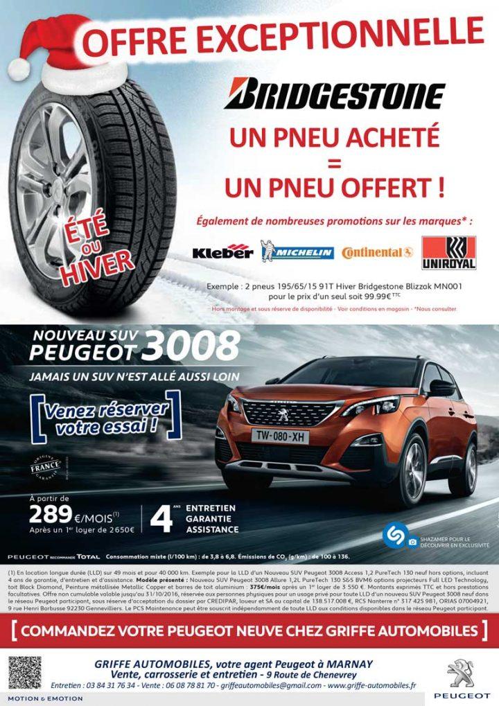 Offres exceptionnelles sur les pneus