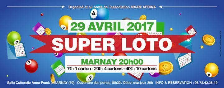 Venez jouer et aider l'association Maam Afrika