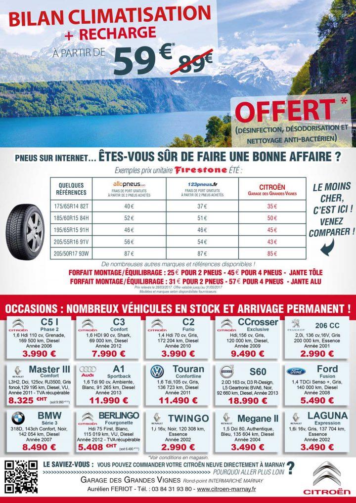 Citroën Marnay : et pour vos pneus, êtes-vous sûr de faire une bonne affaire ?