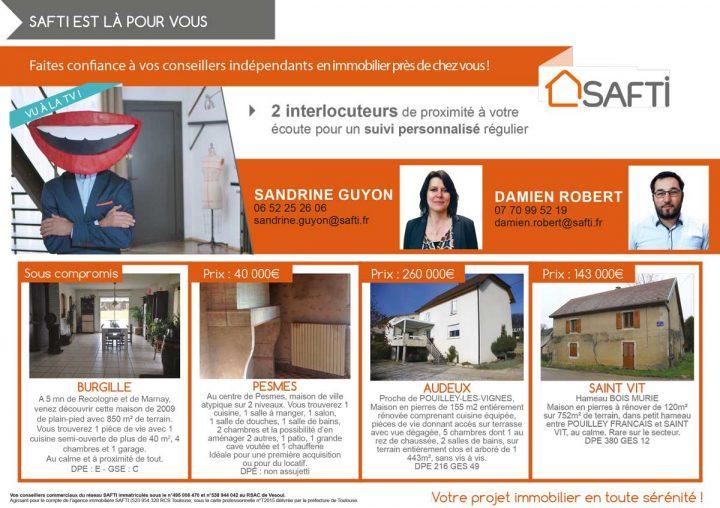Un projet immobilier, achat ou vente ? Safti est là pour vous