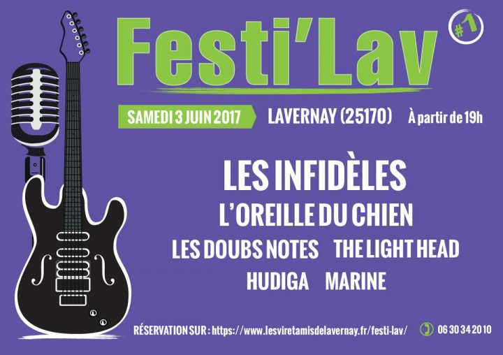 NOUVEAU : Festi'Lav, Samedi 3 juin à Lavernay