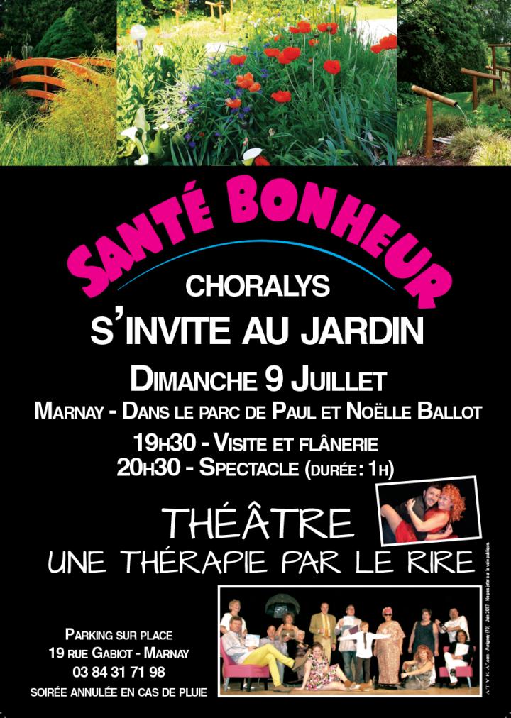 Santé Bonheur…. au jardin
