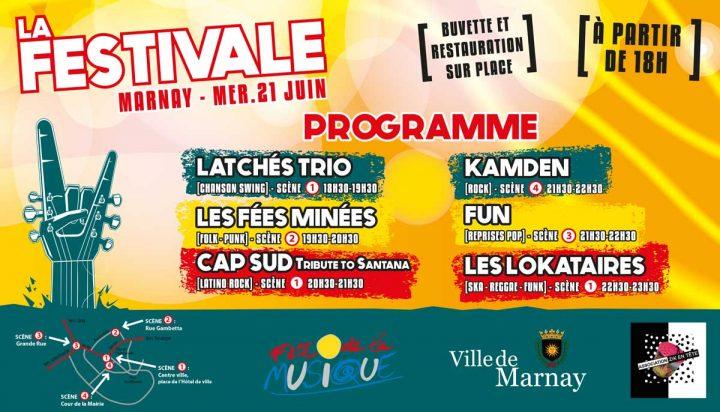 Réservez votre 21 juin à Marnay : La fête de la Musique à ne pas rater