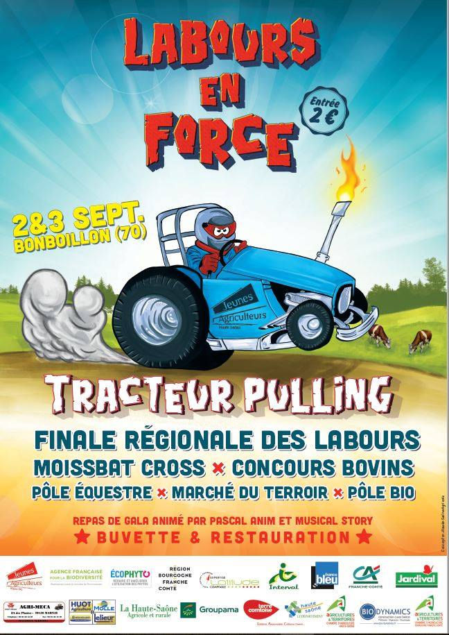 Tracteur Pulling, Concours des Labours… et de nombreuses autres animations