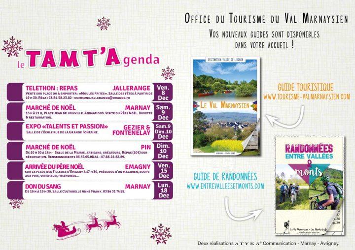 Le TamTam n°70 : le TamT'Agenda et votre Office de Tourisme