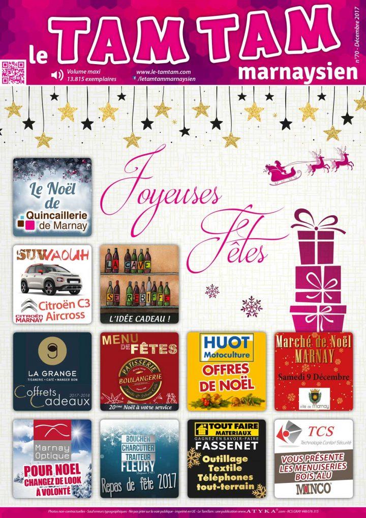 Le TamTam n°70 : édition de Noël, dans vos boîtes très bientôt….