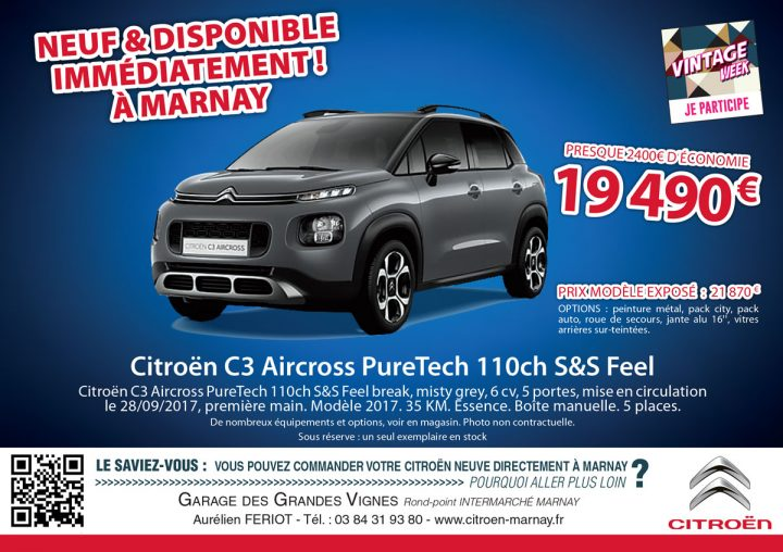 Le TamTam n°69 : Citroën à Marnay.