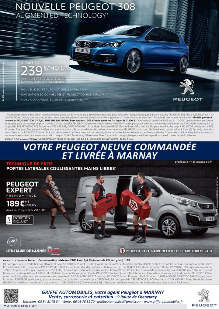 Le TamTam n°69 : Peugeot Griffe Automobiles à Marnay