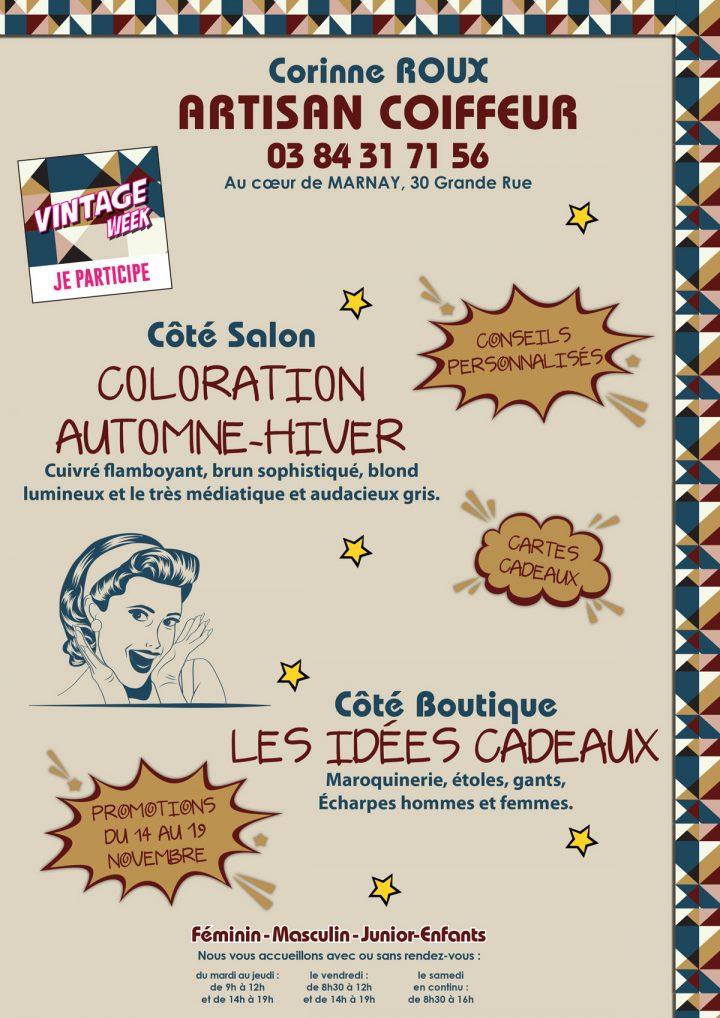 Le TamTam n°69 : Corinne Roux, Artisan Coiffeur au coeur de Marnay