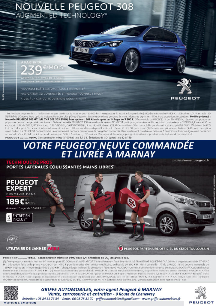 Le TamTam n°74 : Griffe Automobiles Peugeot, Marnay