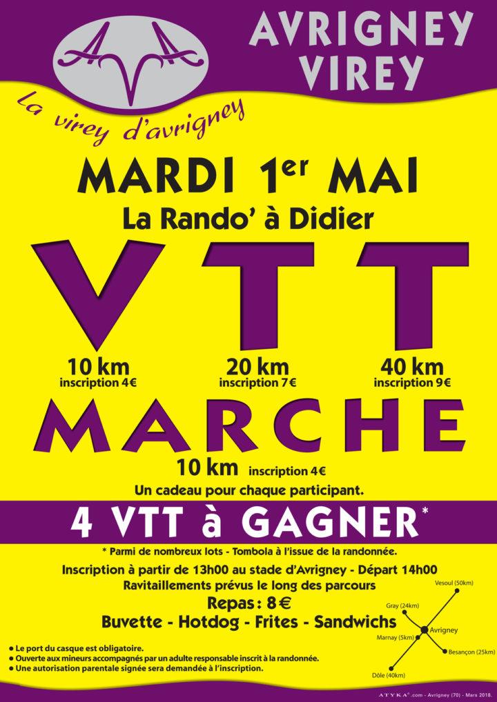 La Rando à Didier : Avrigney-Virey