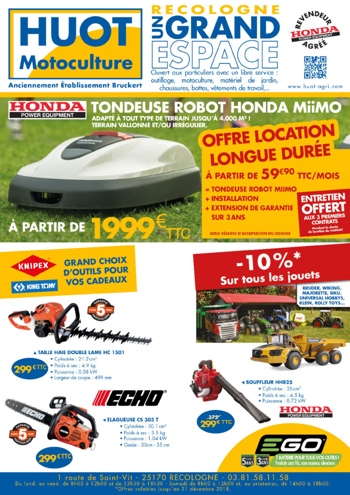 Le Tamtam n°83 : Huot Motoculture