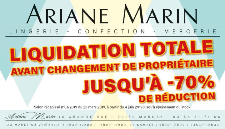 Le TamTam n°89 : Ariane Marin