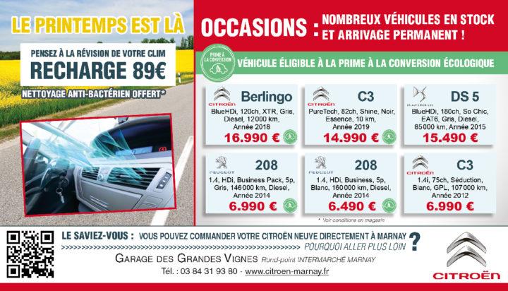 Le TamTam n°87 : Garage des Grandes Vignes Citroën